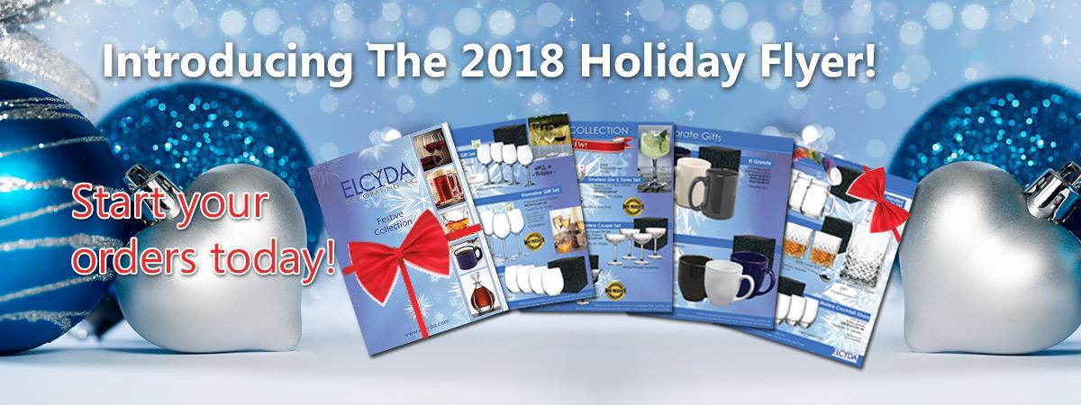 Elcyda Holiday Flyer 2018