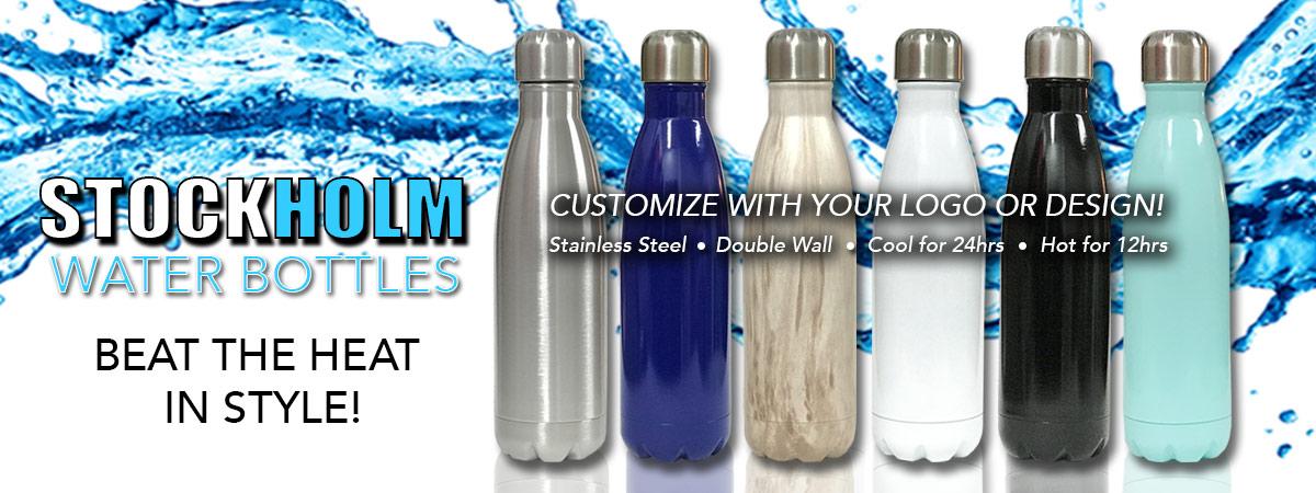 Stockholm Water Bottles!