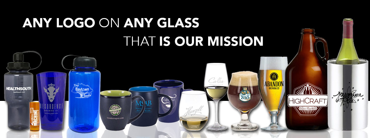 A Logo on any glass, that is our mission