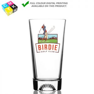 Golfball Glass 5330 16oz Digital Printing