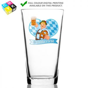 Mixing Glass 0645 20oz Digital Printing