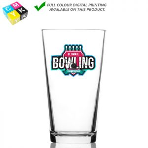 Mixing Glass 5139 16oz Digital Printing