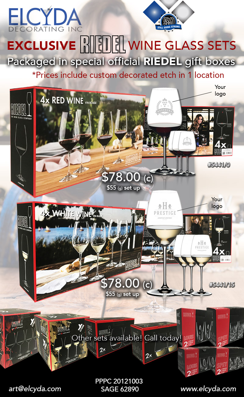 New Riedel Wine Gift Box Sets!